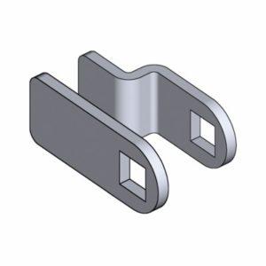 Ригели из оцинкованной стали для поворотно-зажимных замков