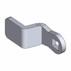 Ригель из оцинковонной стали для GH=31, 35 и 64 (поворотно-зажимной замок)
