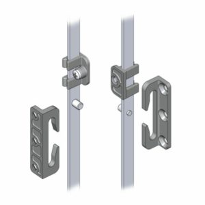 Присоединительные тяги для узкой области между фальцами: 20*22 без уплотнения и 20*25 с уплотнением