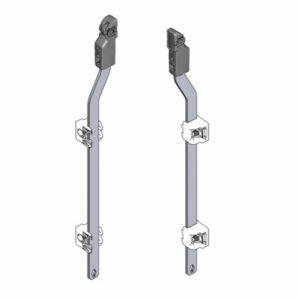 Присоединительная тяга с роликовым башмаком ассортимент 1125 — 3000