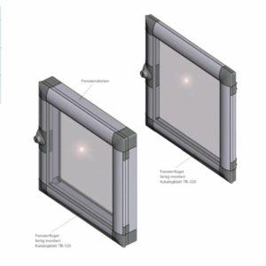 EMKA PRO/flex Накладные окна и оконные створки ассортимент 1210