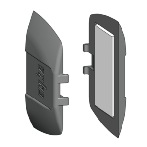 Самонаклеивающаяся накладка со скосами для захода ригеля, внутренняя ручка (кат. 2020/21)